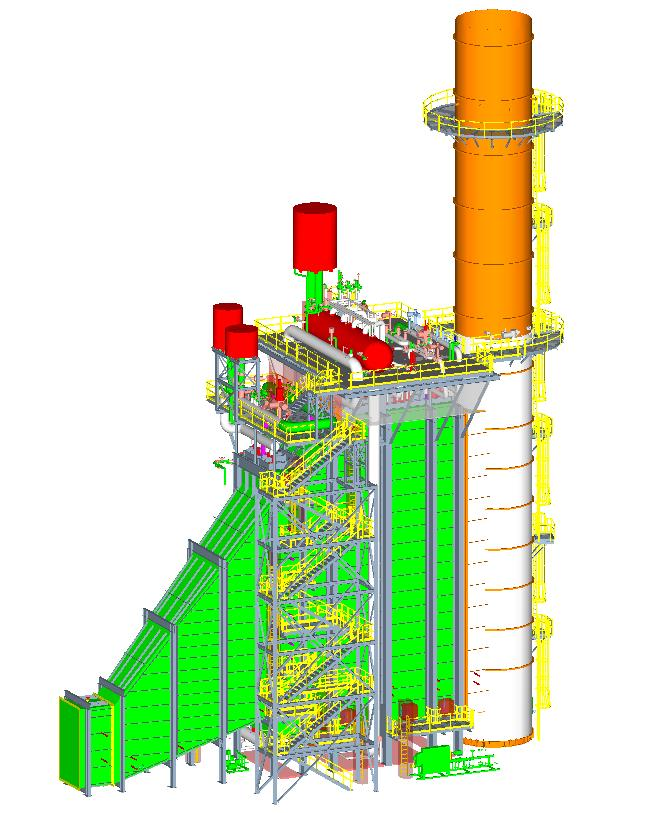 HRSG (Heat Recovery Steam Generator) Structural & Mechanical Design Image 1