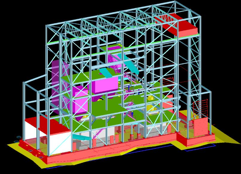 Eleonore Gold Corp. Structural Design including the  Foundation of two Crusher Buildings Image 2