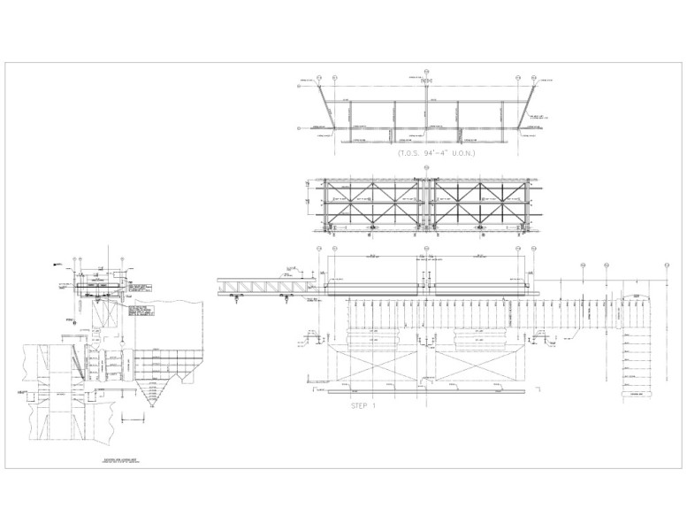 Coal Power Plant Engineering for Ductwork Lifting Methodology Image 3