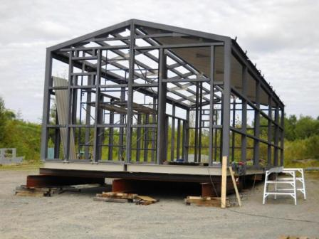 Electrical Equipment Prefab Building Image 1