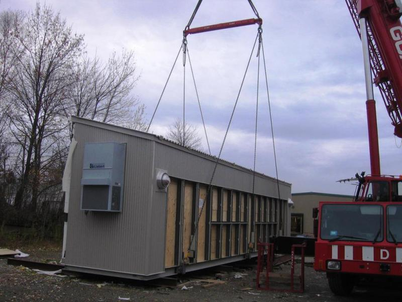 Electrical Equipment Prefab Building Image 3