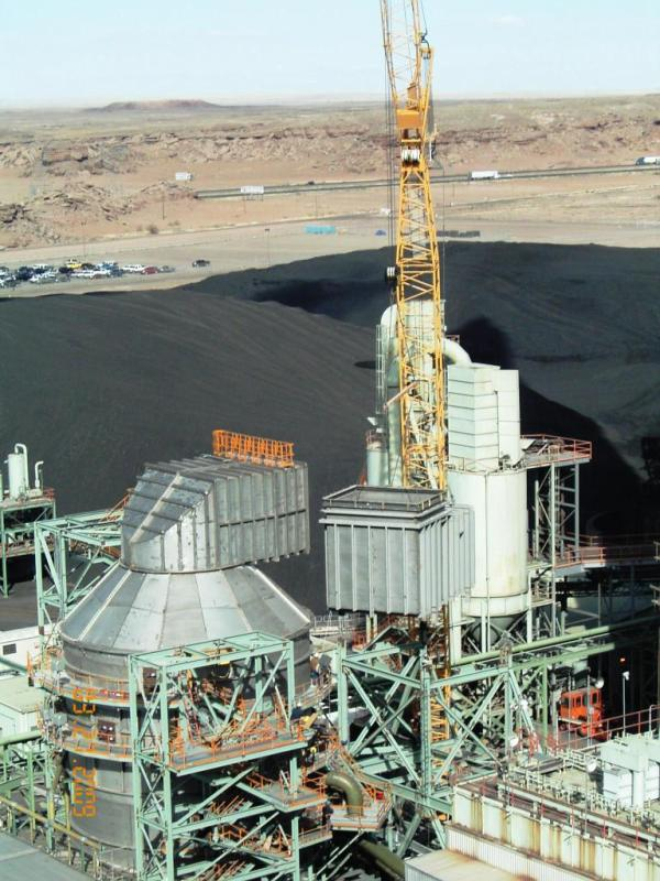 Coal Power Plant Ductwork Design, Cholla 3 Image 1