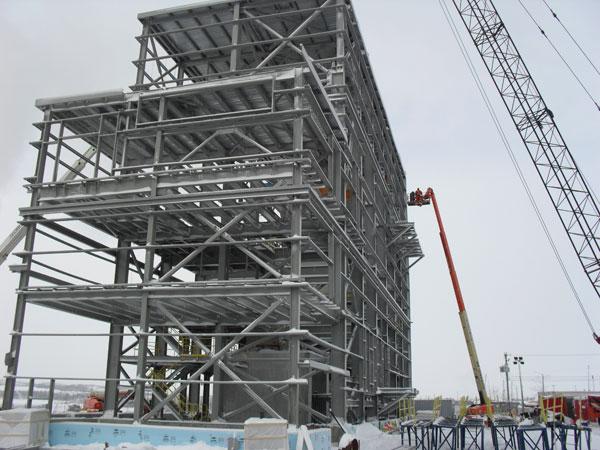 Eleonore Gold Corp. – Conception structurale de bâtiments de transformation d'acier (2013) Image 2