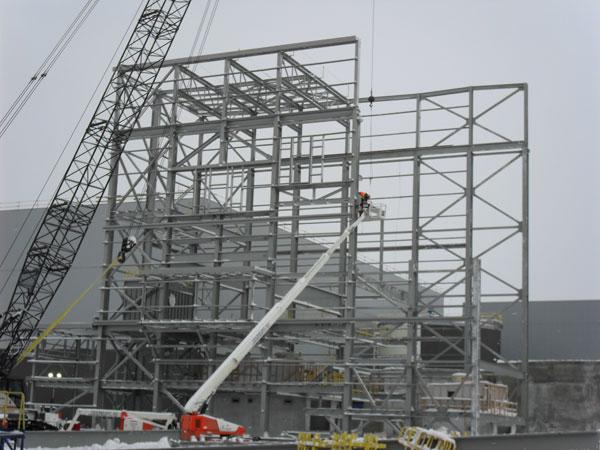 Eleonore Gold Corp. – Conception structurale de bâtiments de transformation d'acier (2013) Image 3