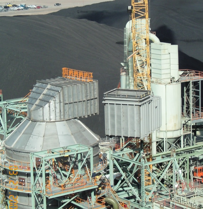 Ghent and Mill Creek Coal Power Plant, FGD Outlet Duct (2007 & 2013) Image 3