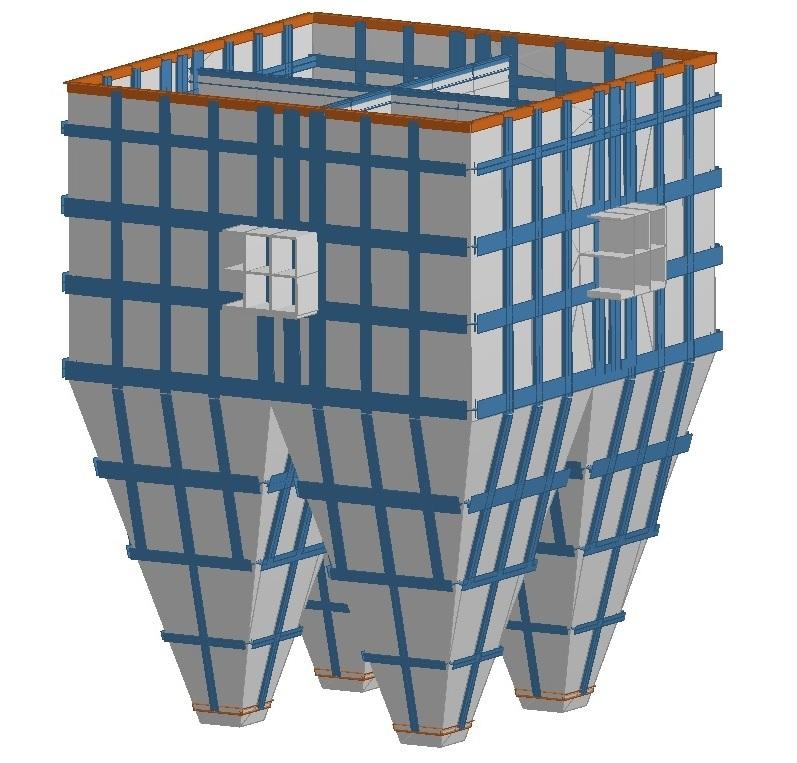 Dessins de réservoirs à pression atmosphérique – Nucor Louisiana (2012) Image 1