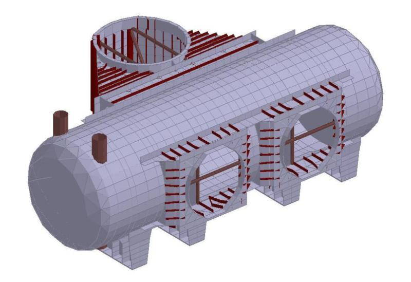Economizer Arrangement and Fabrication Drawings Image 2