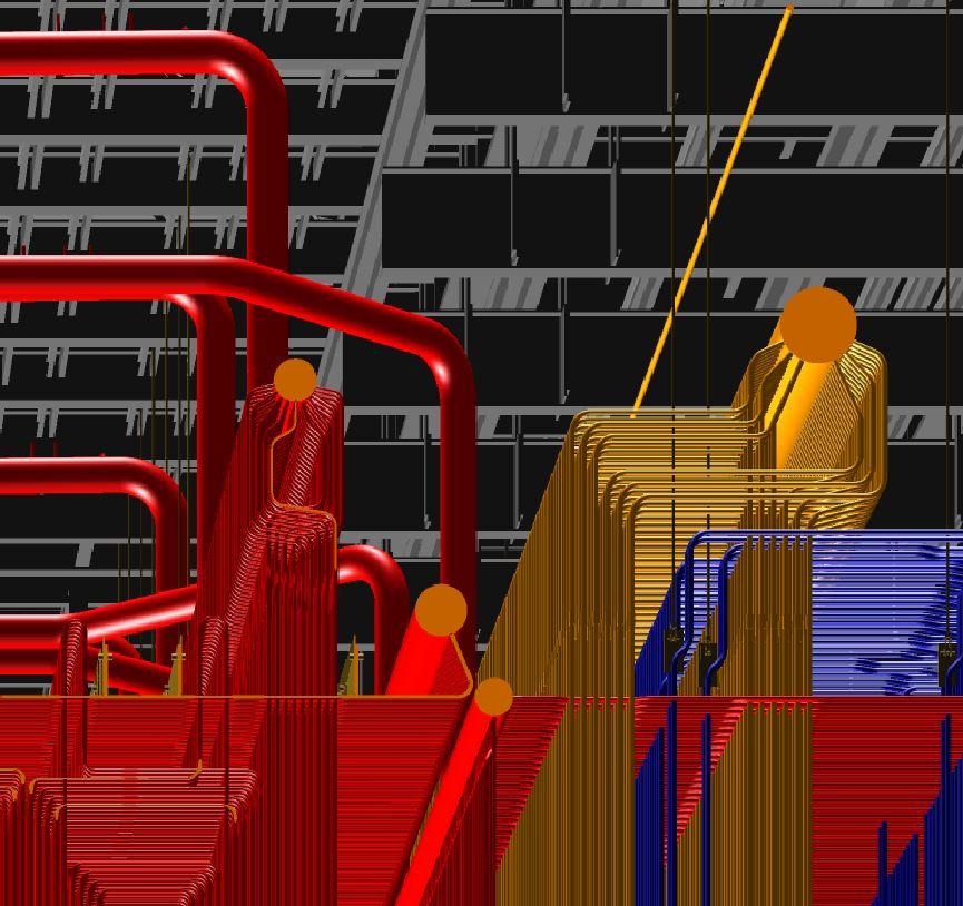 Mangung Super Critical Coal Fired Unit Pressure Part Arrangement/Detail Drawings (2012) Image 3