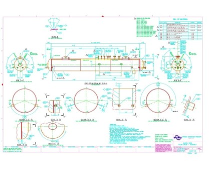 Pressure Vessel Drawings Image 2