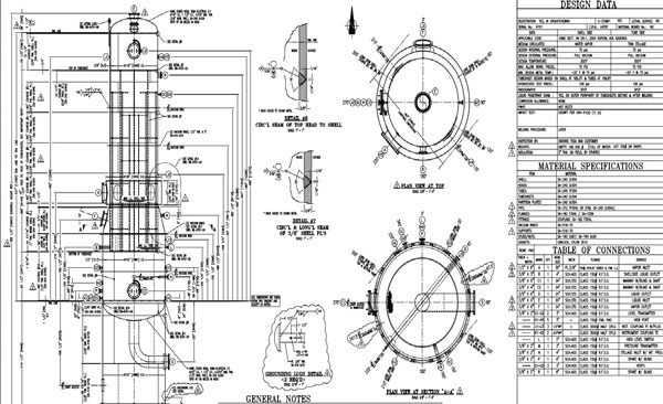 Pressure Vessel Drawings Image 3
